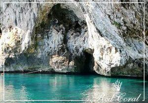 gita in mare alla grotta azzurra